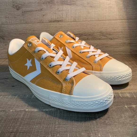 Converse Star Player Ox Turmeric Gold